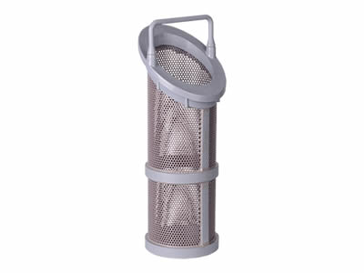 There is a Y type perforated filter element with fixed bar.