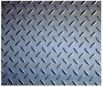 Checker Plates Resist Slip And Ensure Stairways And