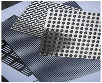 Perforated Screen For Windows And Doors Chairs And Table