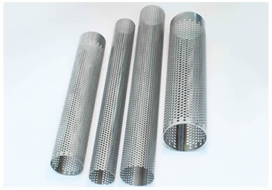 Perforated Tube Ideal For Filter Elements Silencers