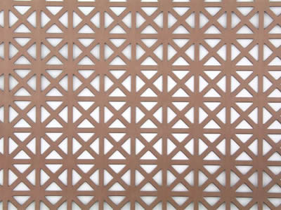 Copper Brass Perforated Metal Can Be Filter Element And